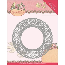 Find It Trading - Yvonne Creations Die - Get Well Soon Flower Doily