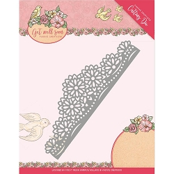 Find It Trading - Yvonne Creations Die - Get Well Soon Flower Border