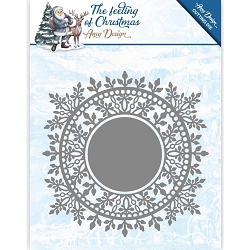 Find It Trading - Amy Design Die - The Feeling of Christmas Ice Crystal Circle