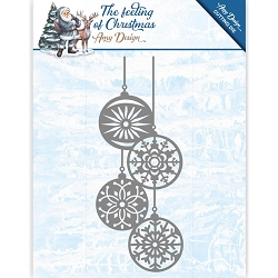 Find It Trading - Amy Design Die - The Feeling of Christmas Christmas Balls