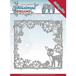 Find It Trading - Yvonne Creations Die - Christmas Dreams Christmas Animal Frame