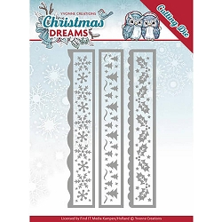 Find It Trading - Yvonne Creations Die - Christmas Dreams Christmas Borders