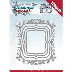 Find It Trading - Yvonne Creations Die - Christmas Dreams Snowflake Rectangles