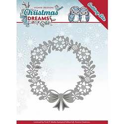 Find It Trading - Yvonne Creations Die - Christmas Dreams Poinsettia Wreath
