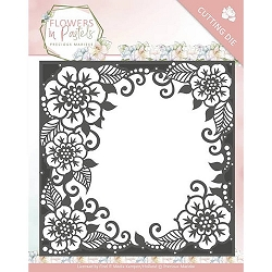 Find It Trading - Precious Marieke Die - Flowers in Pastels Floral Frame