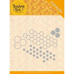 Find It Trading - Jeanine's Art Die - Buzzing Bees Hexagon Set