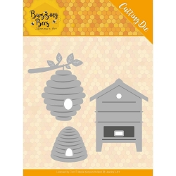 Find It Trading - Jeanine's Art Die - Buzzing Bees Beehives