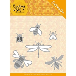 Find It Trading - Jeanine's Art Die - Buzzing Bees Set of Bugs