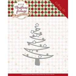 Find It Trading - Precious Marieke Die - Warm Christmas Feelings Star Tree