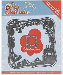 Find It Trading - Yvonne Creations Die - Bubbly Girls Party Celebration Frame