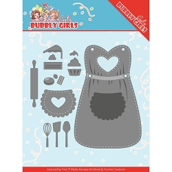 Find It Trading - Yvonne Creations Die - Bubbly Girls Party Apron