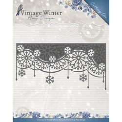 Find It Trading - Amy Design Die - Vintage Winter Snowflake Swirl Edge