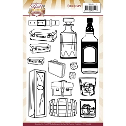 Find It Trading - Yvonne Creations Clear Stamp - Good Old Days Whiskey