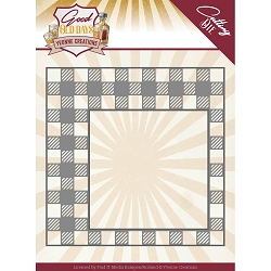 Find It Trading - Yvonne Creations Die - Good Old Days Checkered Frame