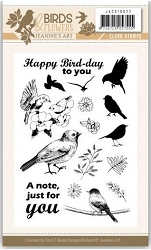 Find It Trading - Jeanine's Art Clear Stamp - Birds