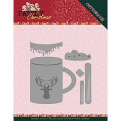 Find It Trading - Yvonne Creations Die - Family Christmas Hot Cocoa