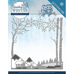 Find It Trading - Yvonne Creations Die - Sparkling Winter Landscape
