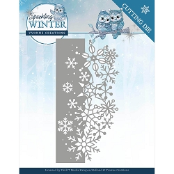 Find It Trading - Yvonne Creations Die - Sparkling Winter Border