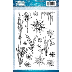 Find It Trading - Jeanine's Art Clear Stamp - The Colours of Winter