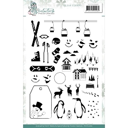 Find It Trading - Yvonne Creations Clear Stamp - Wintertime
