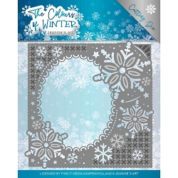 Find It Trading - Jeanine's Art Die - The Colours of Winter Frame