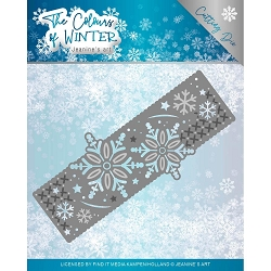 Find It Trading - Jeanine's Art Die - The Colours of Winter Border