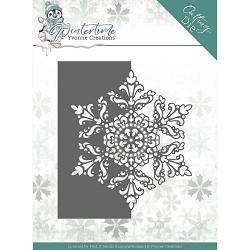Find It Trading - Yvonne Creations Die - Wintertime Snowflake Border