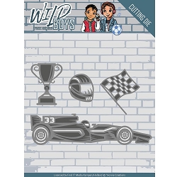 Find It Trading - Yvonne Creations Die - Wild Boys Racing