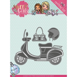 Find It Trading - Yvonne Creations Die - Sweet Girls Scooter