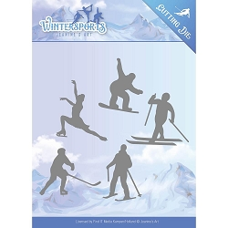 Find It Trading - Jeanine's Art Die - Wintersports Winter Sporting