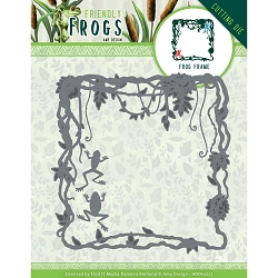 Find It Trading - Amy Design Die - Friendly Frogs Frame