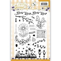 Find It Trading - Precious Marieke Clear Stamps - Early Spring