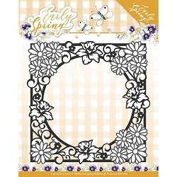 Find It Trading - Precious Marieke Die - Early Spring Flower Square Frame