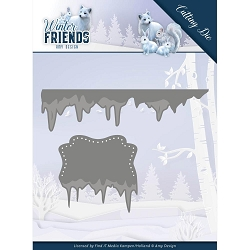 Find It Trading - Amy Design Die - Winter Friends Ice Border