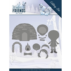 Find It Trading - Amy Design Die - Winter Friends Eskimo