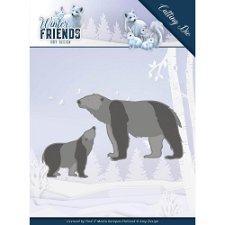 Find It Trading - Amy Design Die - Winter Friends Polar Bears
