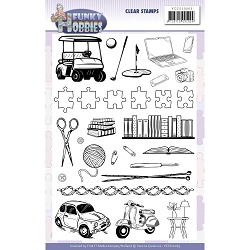 Find It Trading - Yvonne Creations Clear Stamp - Funky Hobbies