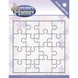 Find It Trading - Yvonne Creations Die - Funky Hobbies Puzzle