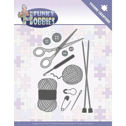 Find It Trading - Yvonne Creations Die - Funky Hobbies Knitting