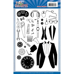 Find It Trading - Yvonne Creations Clear Stamp - Big Guys Workers
