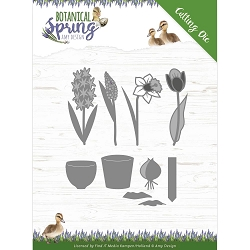 Find It Trading - Amy Design Die - Botanical Spring Bulbs & Flowers