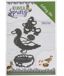 Find It Trading - Amy Design Die - Botanical Spring Some Ducks