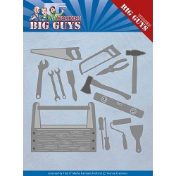 Find It Trading - Yvonne Creations Die - Big Guys Workers Handyman Tools