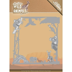 Find It Trading - Amy Design Die - Wild Animals Outback Koala Frame