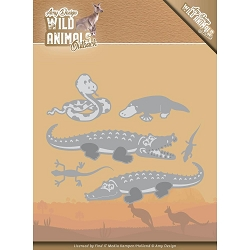 Find It Trading - Amy Design Die - Wild Animals Outback Crocodile