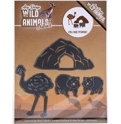 Find It Trading - Amy Design Die - Wild Animals Outback Emu & Wombat