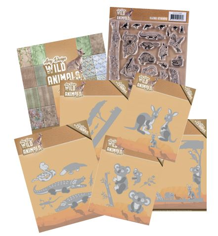 Find-It Trading - Amy Design Wild Animals Outback Collection