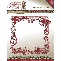 Find It Trading - Amy Design Die - Christmas Greetings Frame