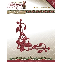 Find It Trading - Amy Design Die - Poinsettia Corner