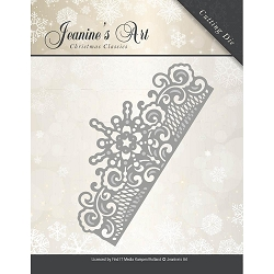 Find It Trading - Jeanine's Art Die - Christmas Classic Frozen Border